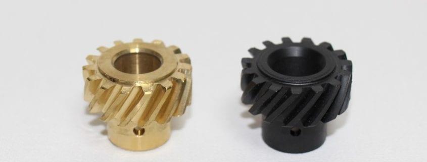 carbon fiber filled PEEK thermoplastic gear