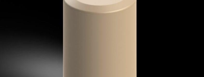 Glass filled PEEK compressor seal