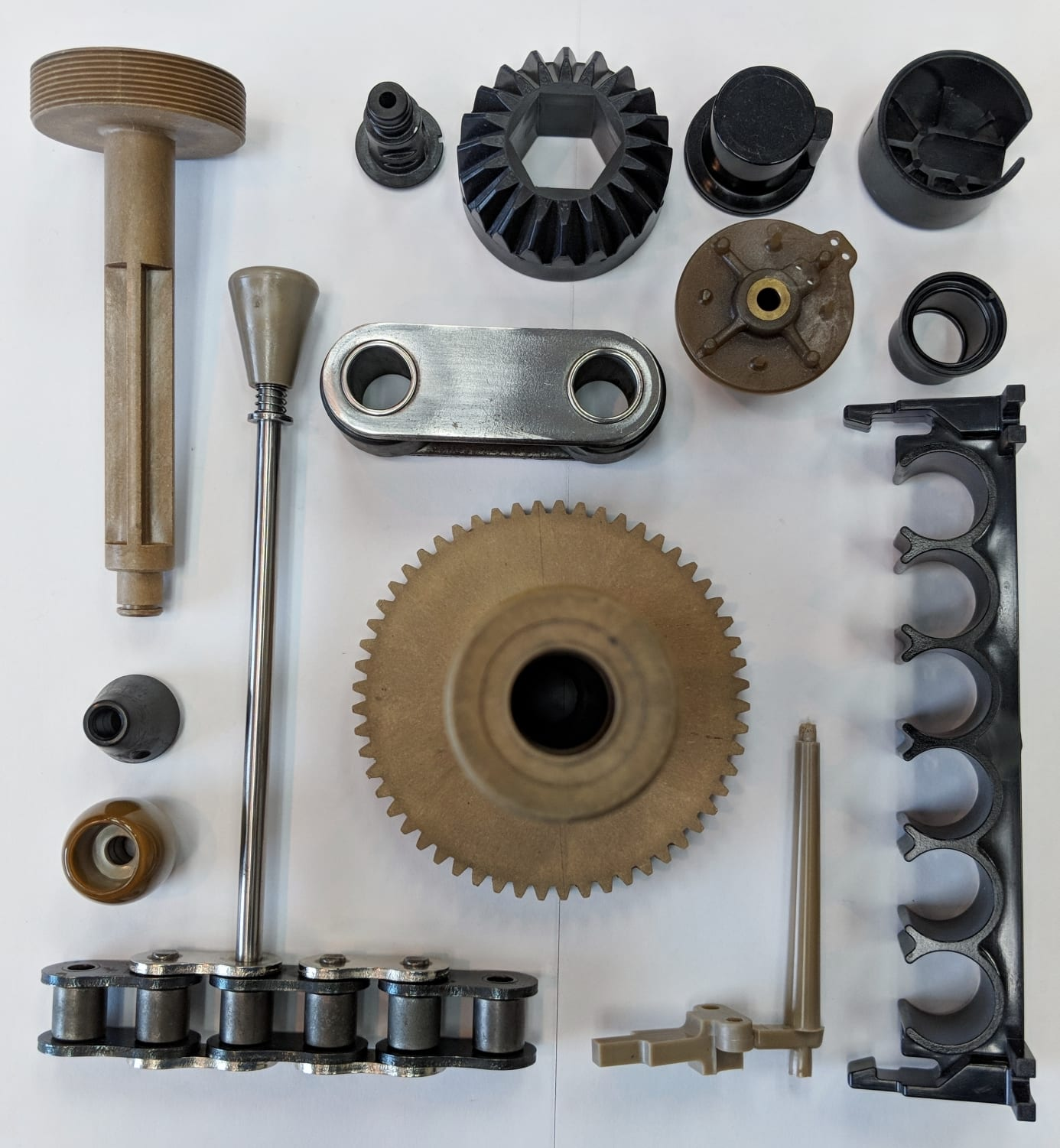 Thermoplastics parts for the Food Processing Industry